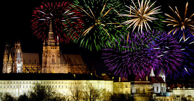 Celebrating New Year's Eve In Prague