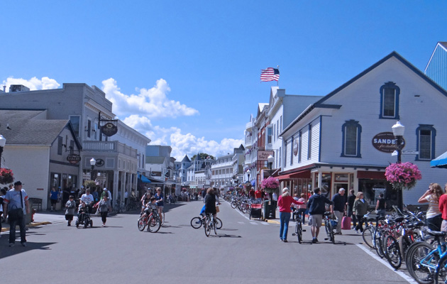 Downtown Mackinac Island, MI